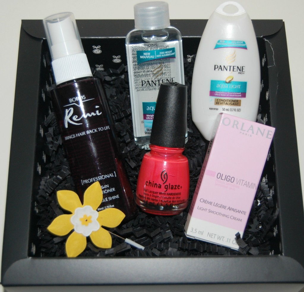 Loose Button Luxe Box for April 2012: