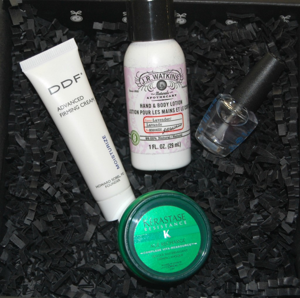 Loose Button Luxe Box for March 2012:
