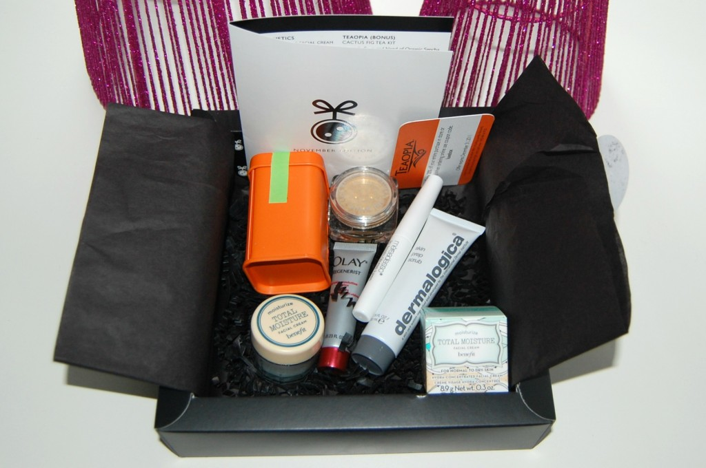 Loose Button Luxe Box for November 2011: