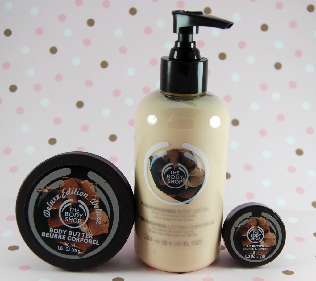 Body Shop New 'Deluxe Chocomania' Collection