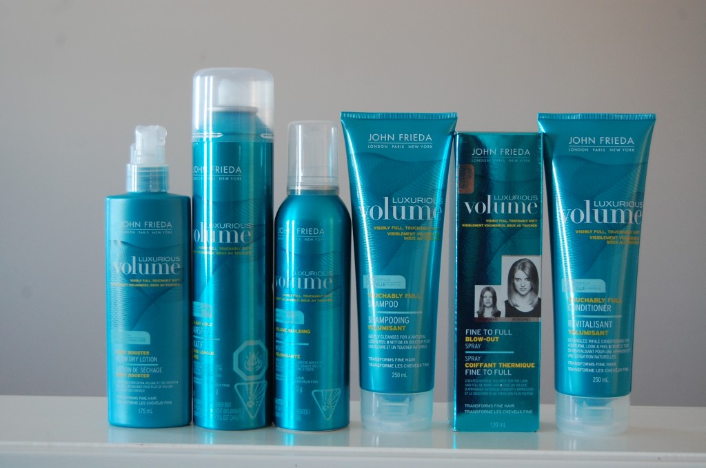 John Frieda Luxurious Volume Collection Giveaway February 9th-16th, 2013