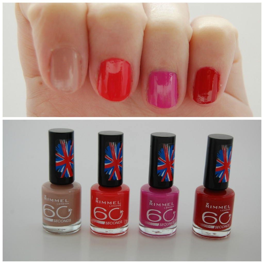 Rimmel, 60 second polish, 60 Seconds Nail Polish, 60 Seconds Nail Polish, rimmel nail polish, canadian beauty blog