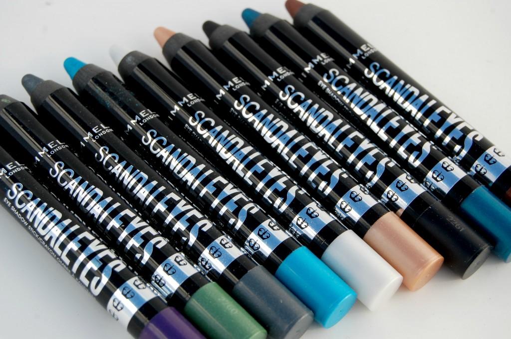 Rimmel Scandaleyes Eyeshadow Sticks Review