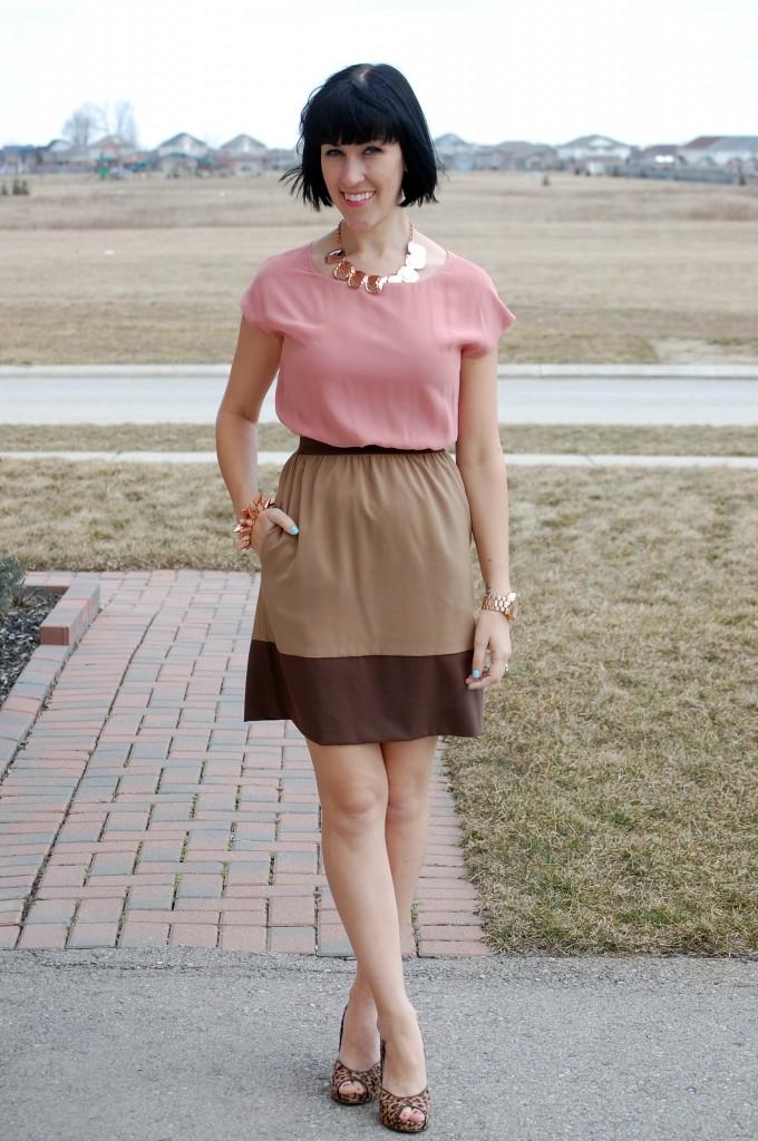 April 9th, 2013- Same Dress 3 Ways