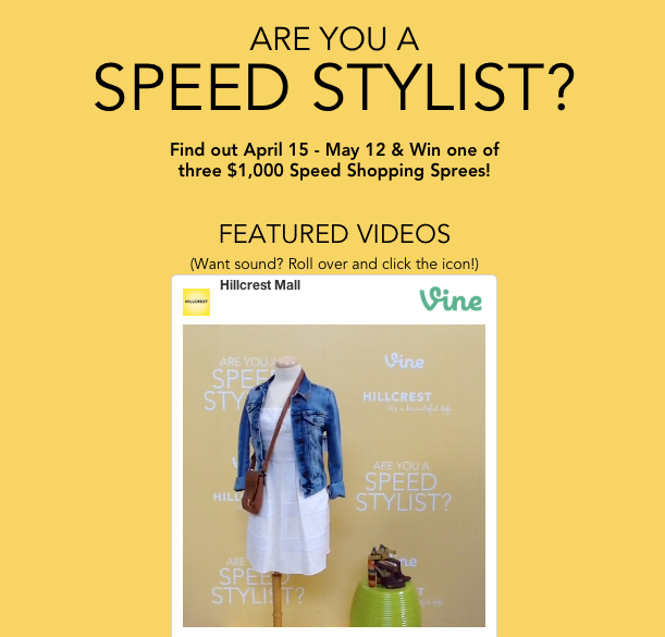 Hillcrest Mall Hosts Speed Styling Event