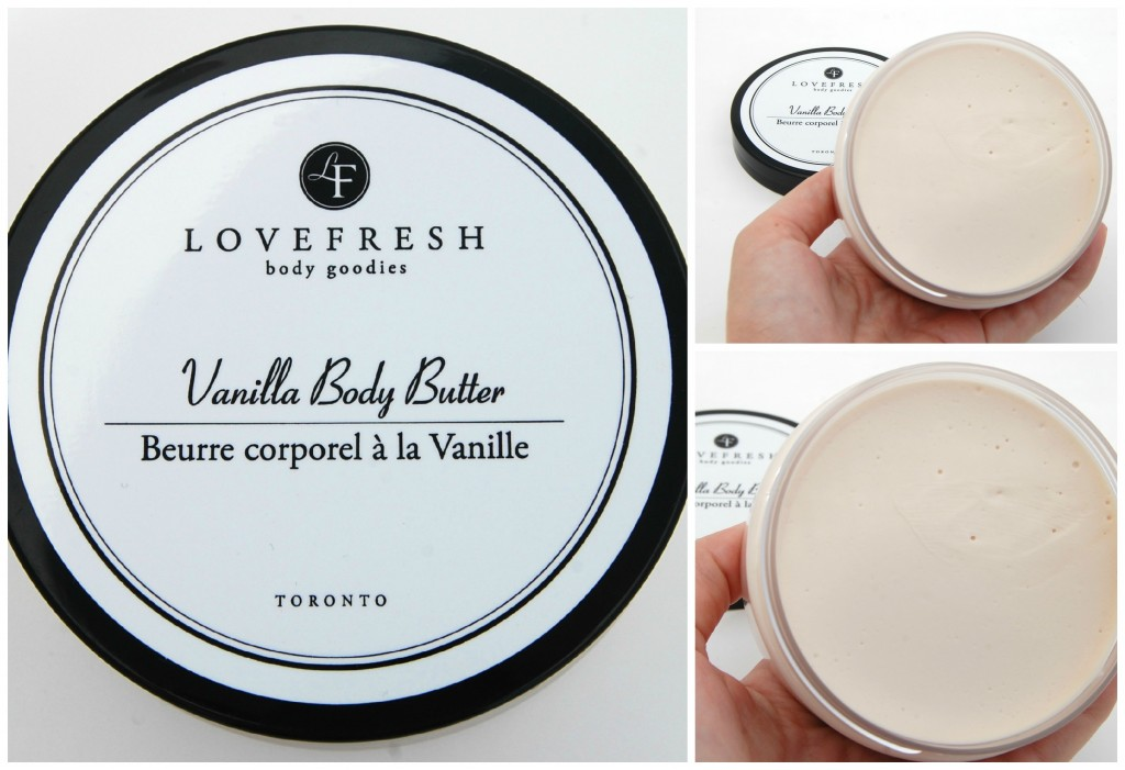 Lovefresh Vanilla Body Butter