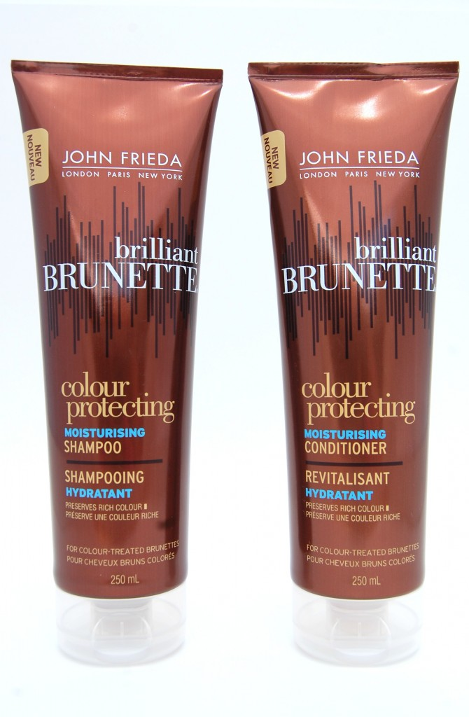 John Frieda Colour Protection Brilliant Brunette Shampoo And Conditioner