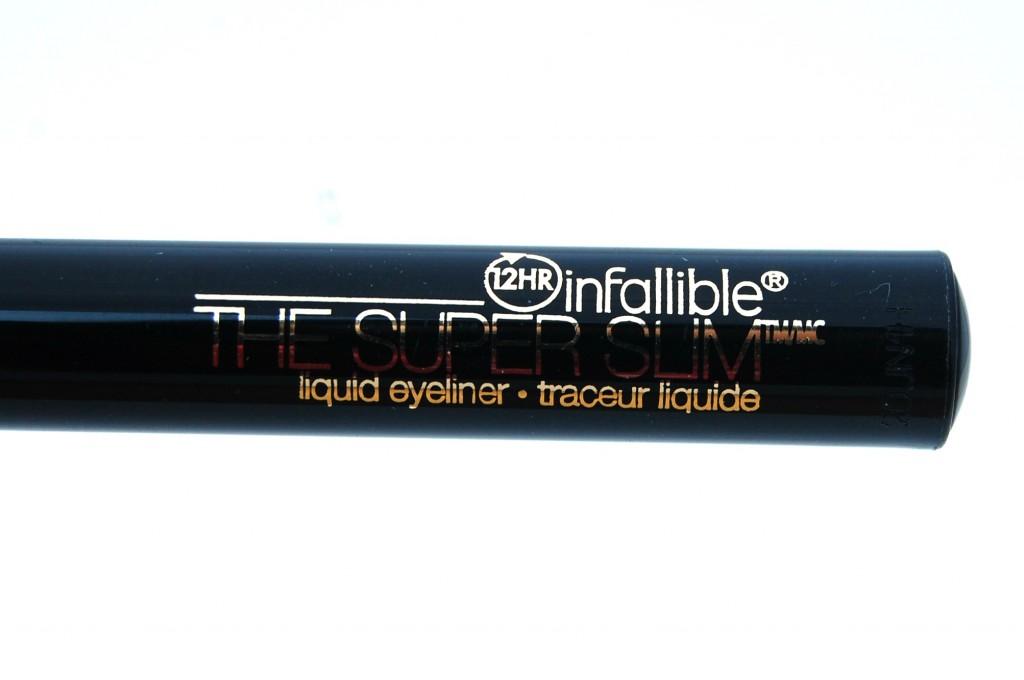 L'Oreal Infallible The Super Slim Liquid Eyeliner  (5)