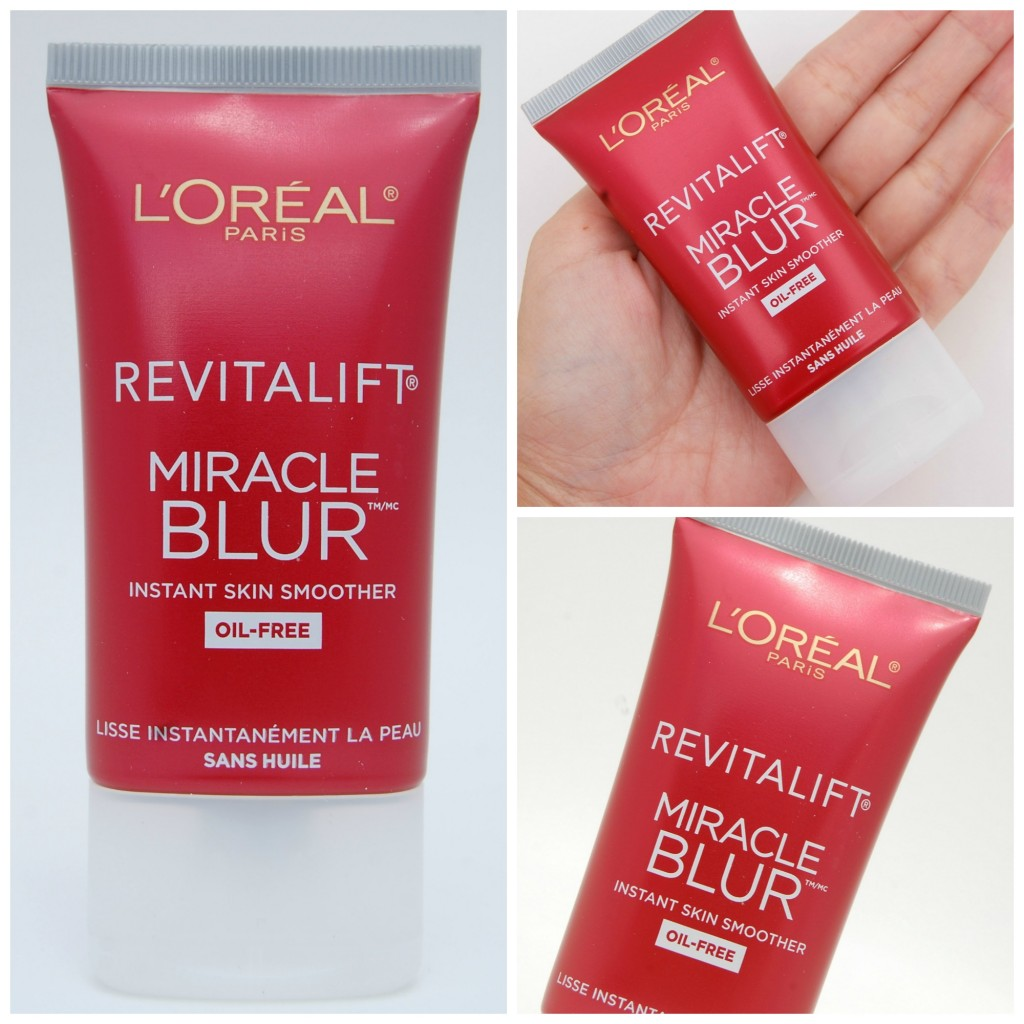 l oreal revitalift miracle blur instant skin smoother finishing cream oil freecanadian fashionista. Black Bedroom Furniture Sets. Home Design Ideas