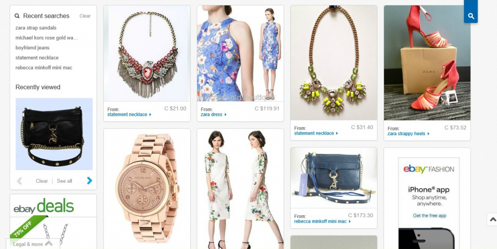 eBay Canada MyMix $100 Shopping Spree