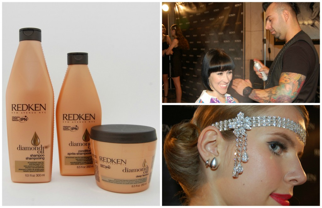 Redken Diamond Oil Collection Launch