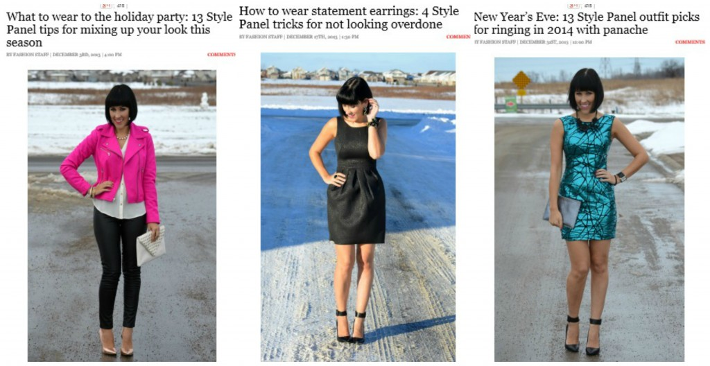 December Style Panel