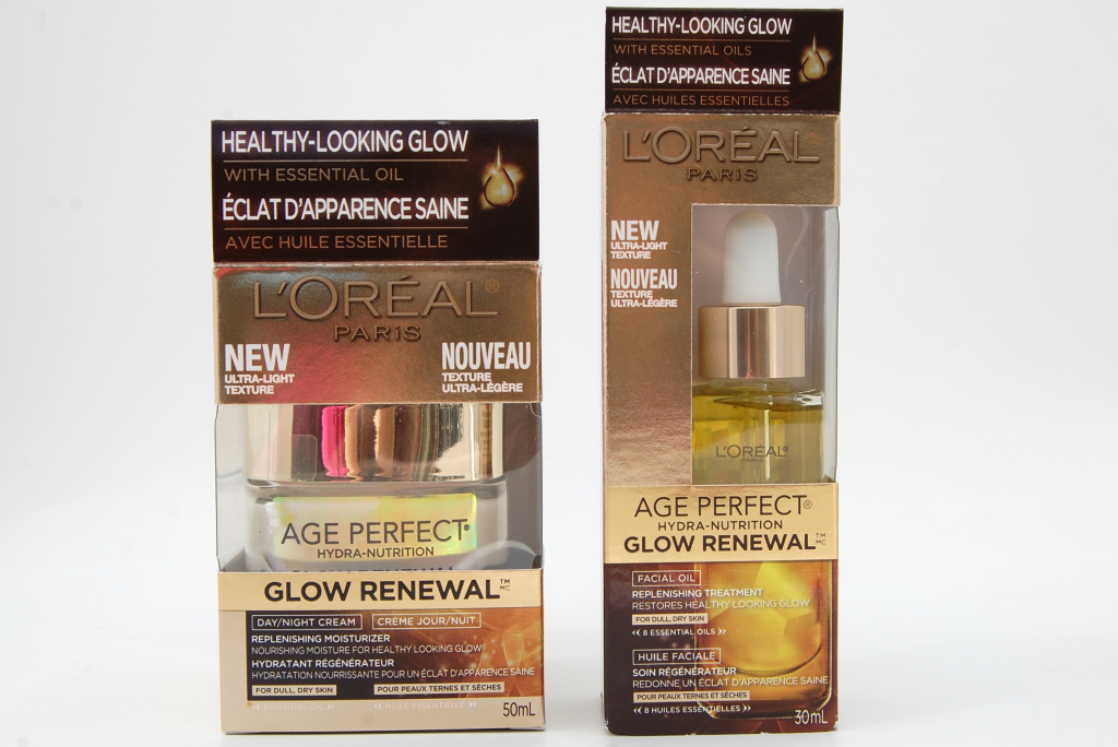 LOreal Age Perfect Glow Renewal Replenishing Cream And Facial Oil