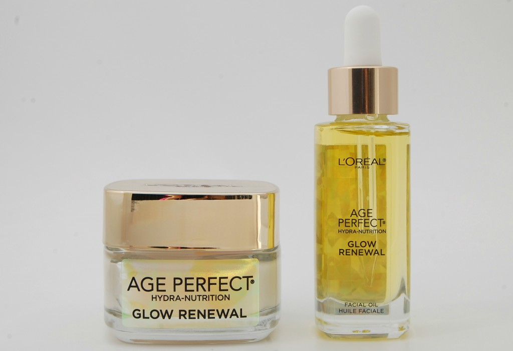 loreal age perfect glow renewal replenishing cream and. Black Bedroom Furniture Sets. Home Design Ideas