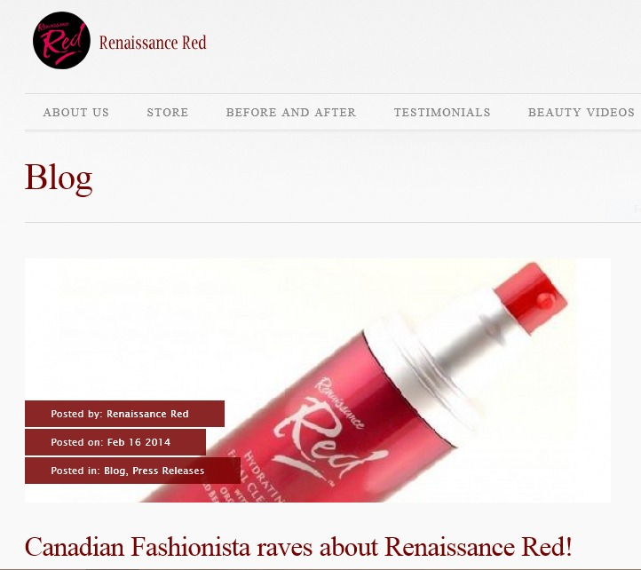 Renaissance Red