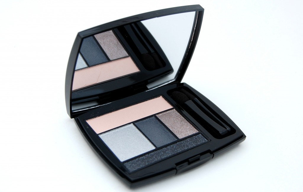 Lancôme Color Design Eye Brightening All-In-One Palette in Gris Fatale  (3)