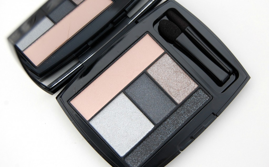 Lancôme Color Design Eye Brightening All-In-One Palette in Gris Fatale  (4)