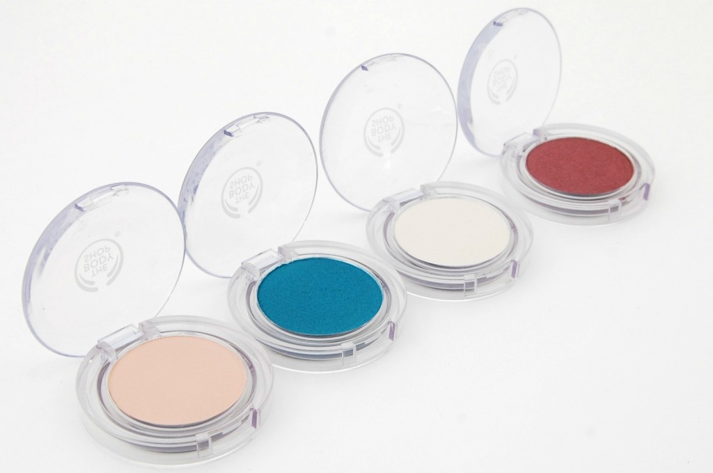 The Body Shop Colour Crush Eyeshadow Collection