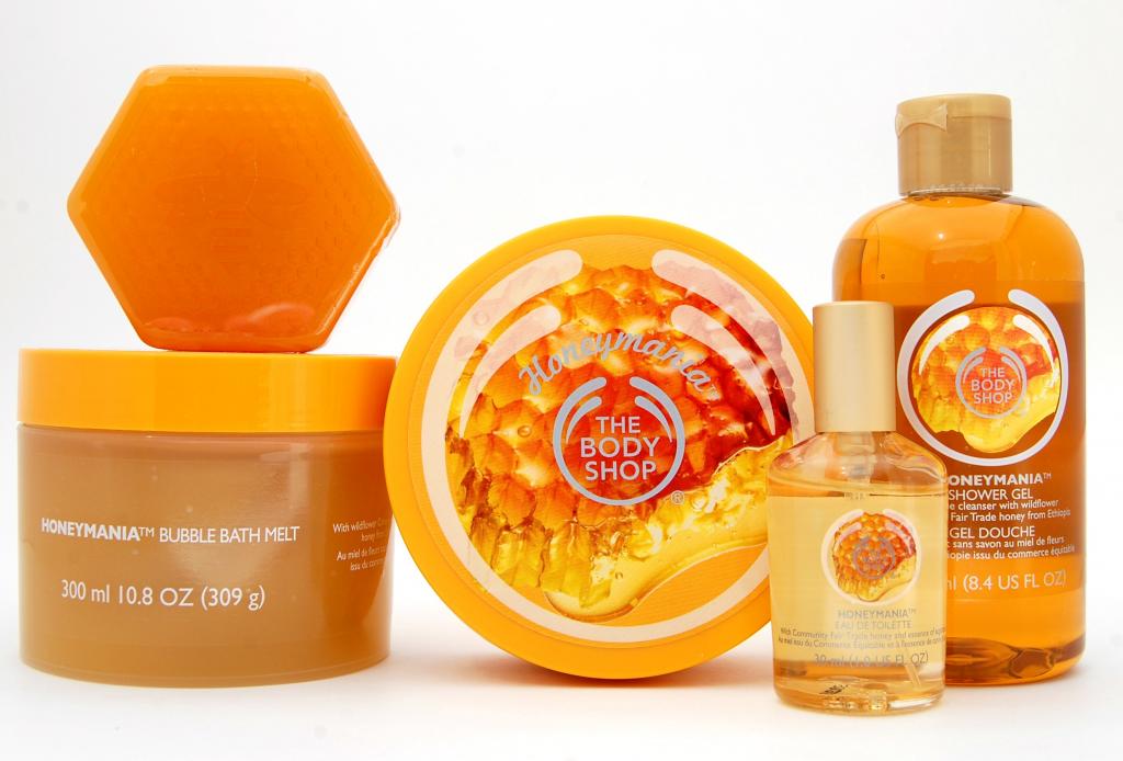 The Body Shop Honeymania (1)