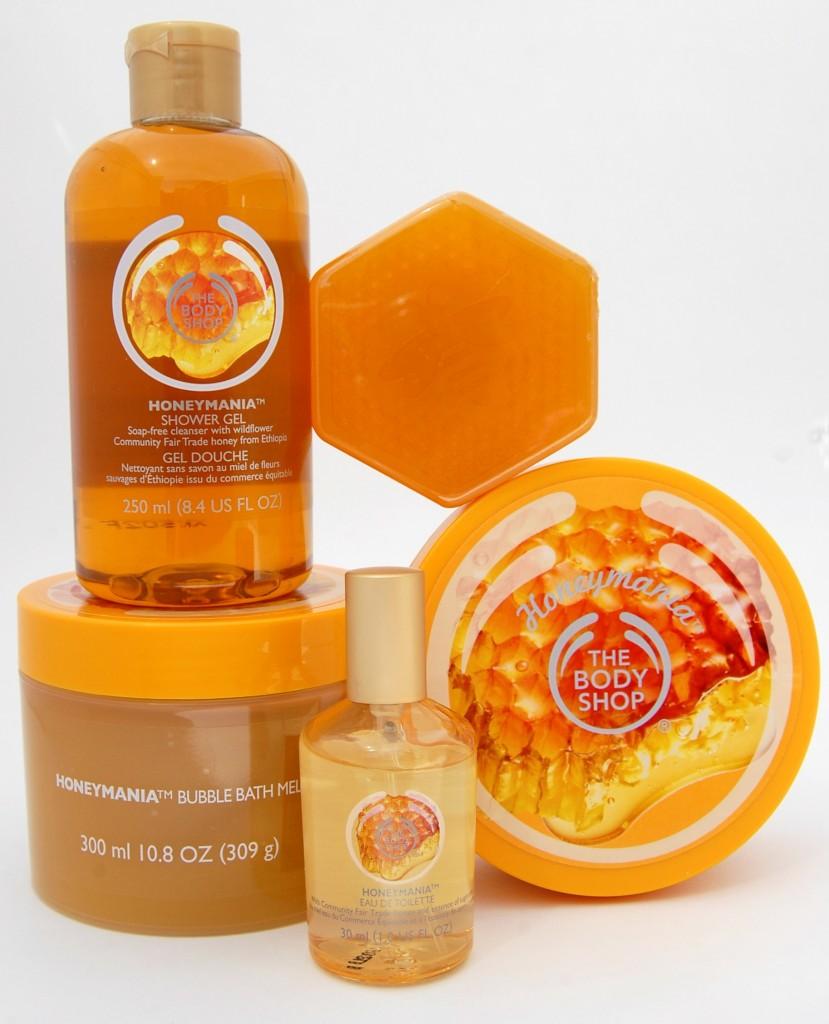 Body Shop Honeymania Collection