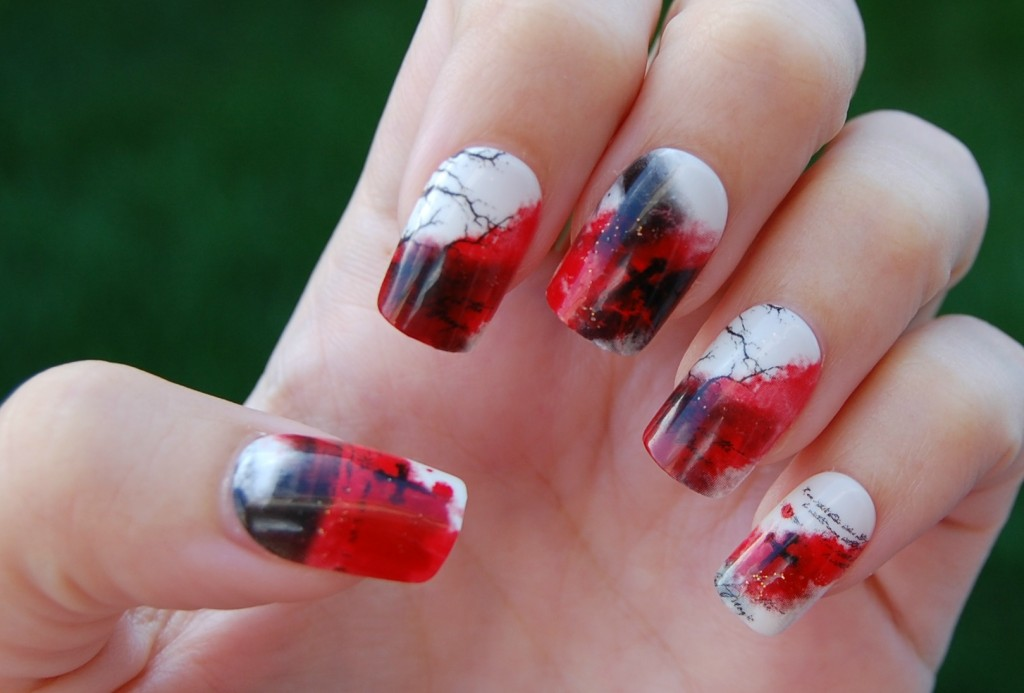 Broadway Nails Halloween imPRESS Press-On Manicures Boomstick (4)