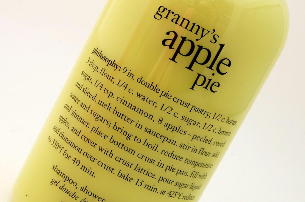 Philosophy's Granny's Apple Pie  (5)