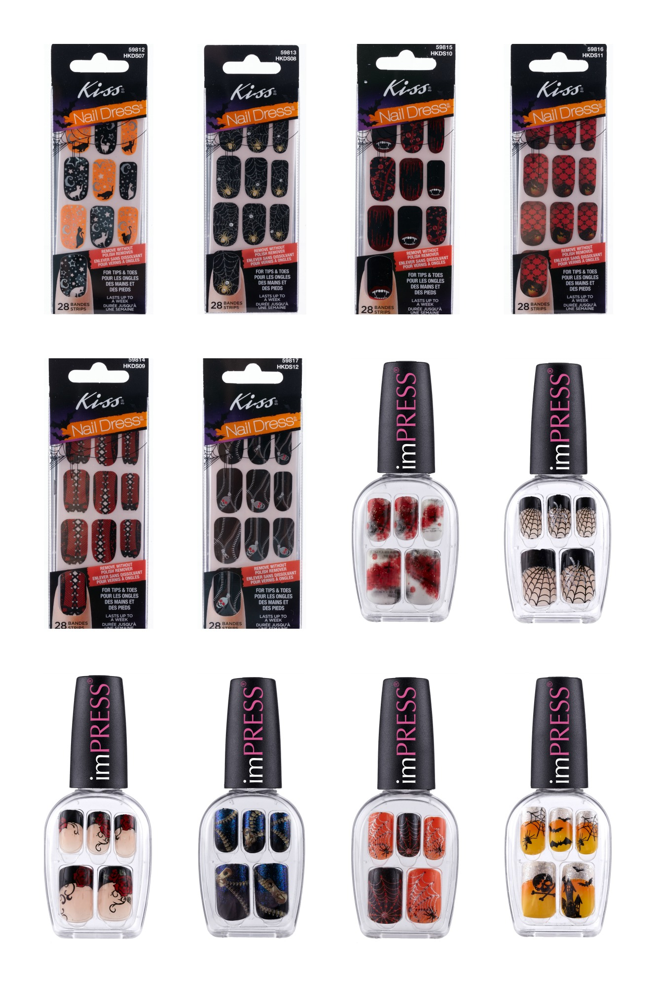 Broadway Nails Halloween Manicure Collection