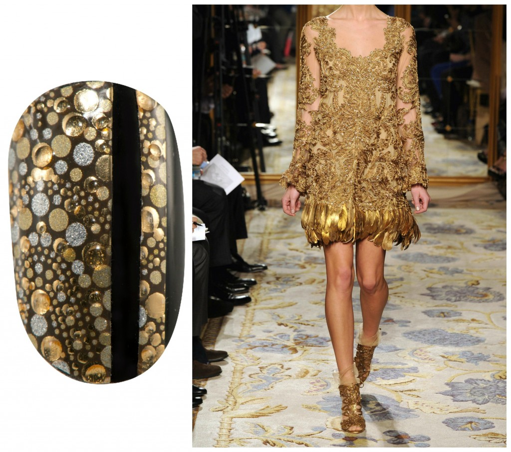 Revlon by Marchesa Nail Art 3D Jewel Appliqués in 'Gilded Mosaic'