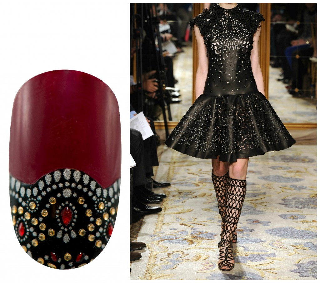 Revlon by Marchesa Nail Art 3D Jewel Appliqués in 'Jeweled Noir'