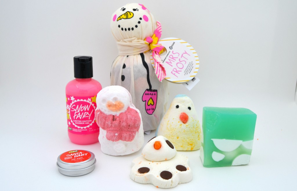 LUSH Holiday Collection