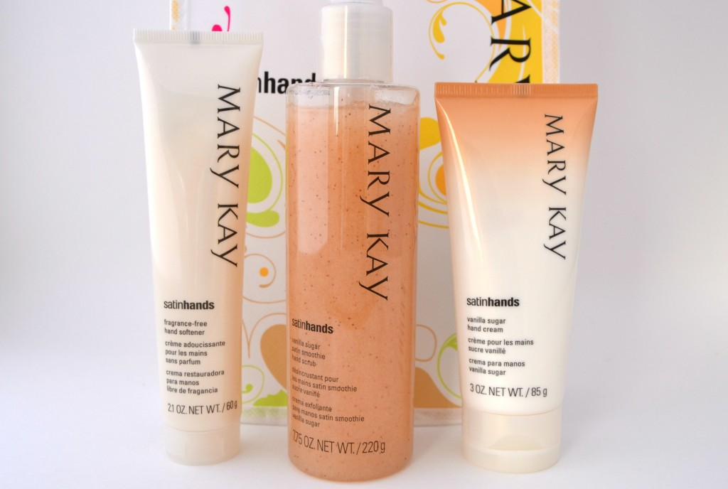 Mary Kay's Vanilla Sugar Satin Hands Pampering Set  (2)