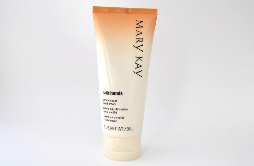 Mary Kay's Vanilla Sugar Satin Hands Pampering Set  (4)
