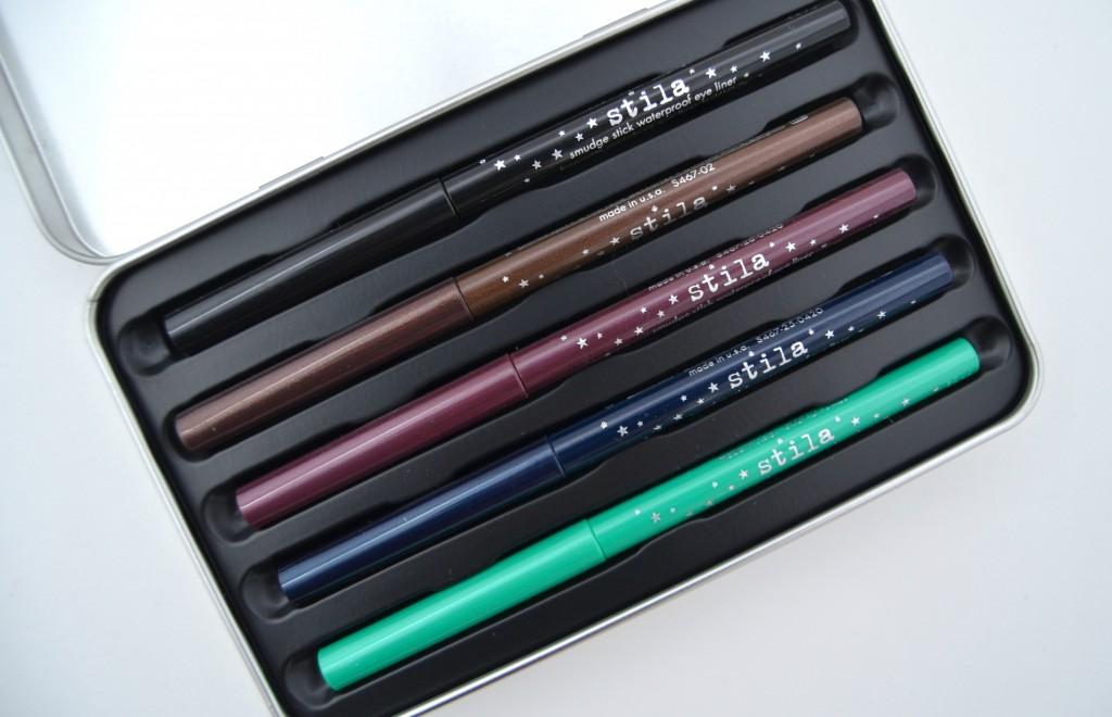 Stila Color Outside the Lines Smudge Stick Eyeliner Set (3)