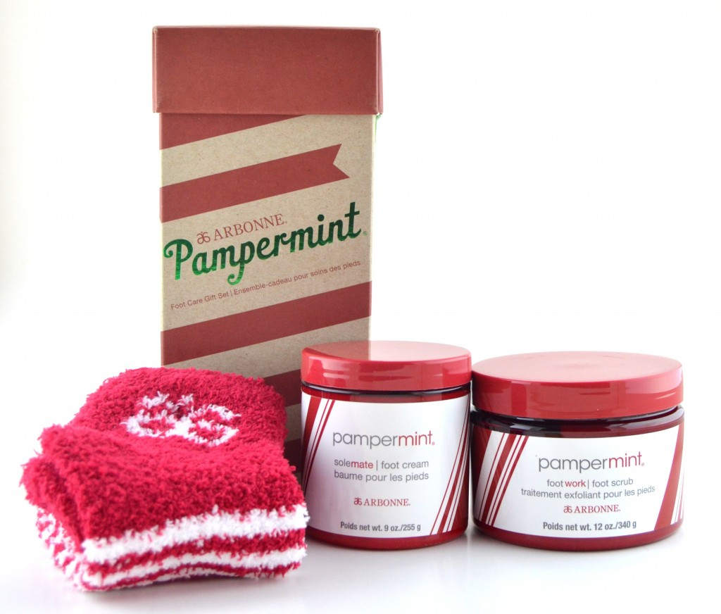 Arbonne Pampermint Foot Care Gift Set  (2)