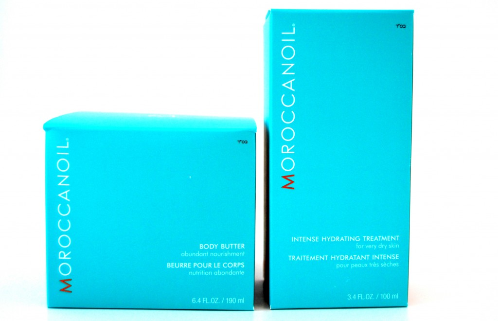 Moroccanoil Intense Hydrating Treatment And Moroccanoil Body Butter