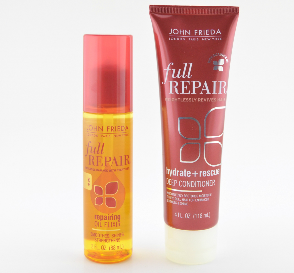 John Frieda Full Repair Repairing Oil Elixir and Full Repair Hydrate + Rescue Deep Conditioner