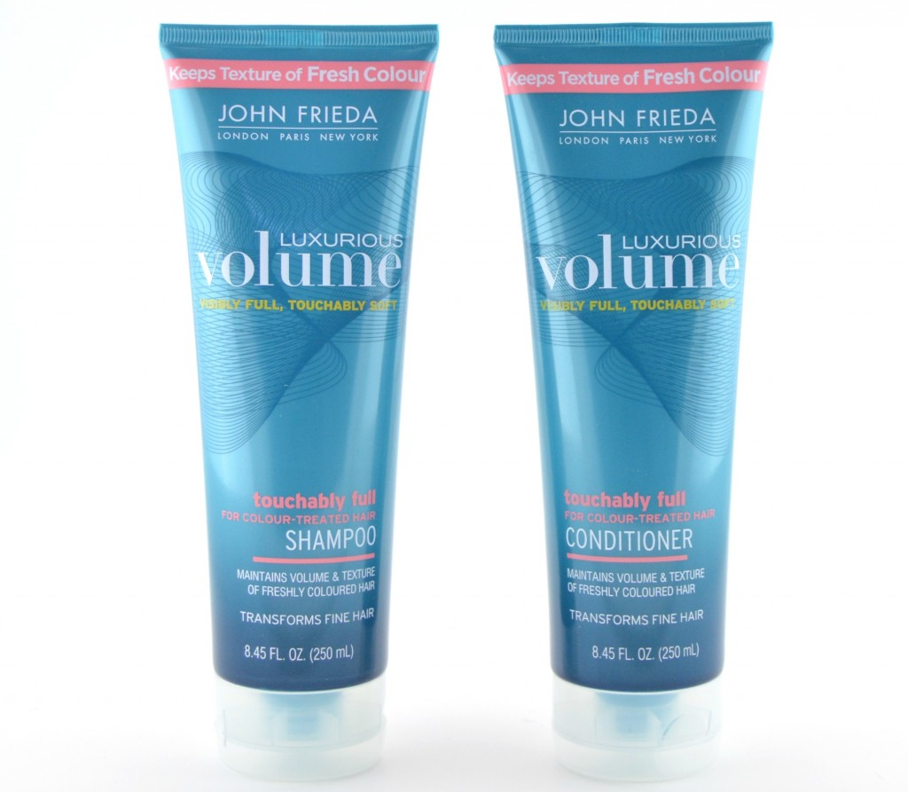 John Frieda Luxurious Volume Touchably Full for Colour Treated Hair Shampoo and Conditioner
