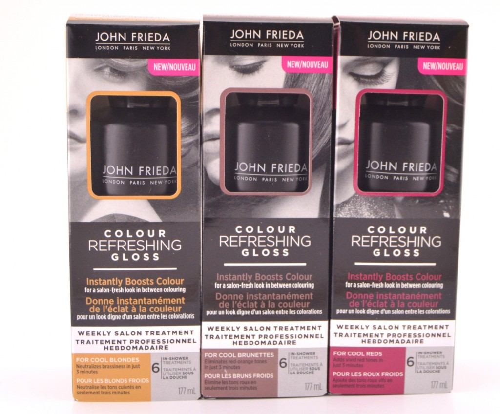 john frieda colour gloss cool - Color Refreshing Gloss