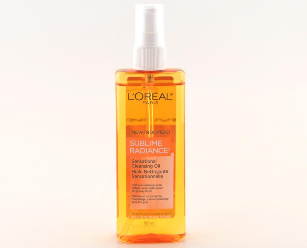 L'Oreal Paris Sublime Radiance Sensational Cleansing Oil  (1)