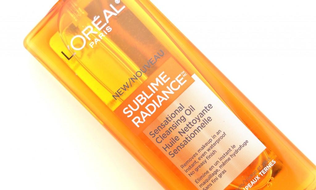 L'Oreal Paris Sublime Radiance Sensational Cleansing Oil  (3)