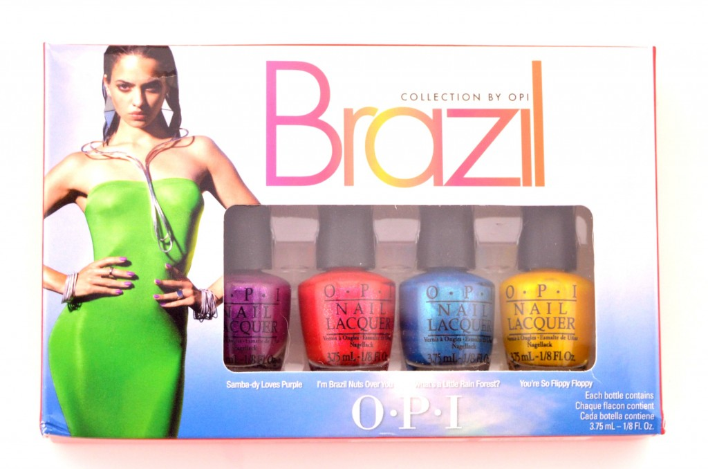 OPI Beach Sandies Liquid Sand Mini Nail Lacquer Collection