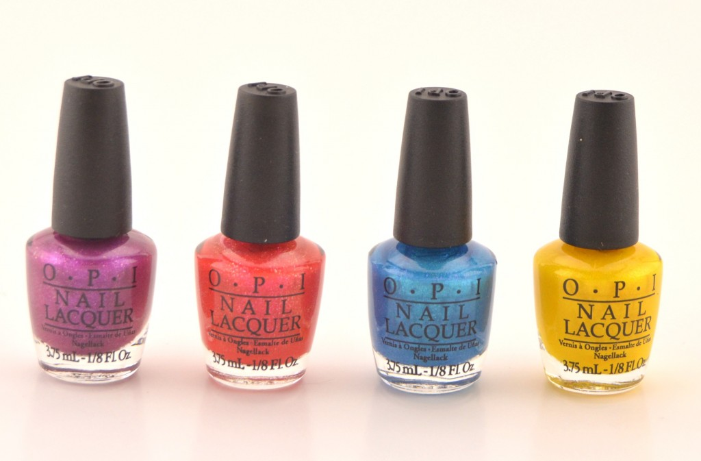 OPI Beach Sandies Liquid Sand Mini Nail Lacquer Collection  (2)