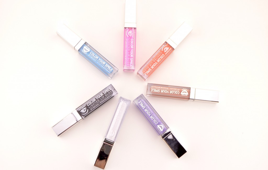 Whitening Lightning Color Your Smile Lip Gloss Lighted Lip Plumper (3)