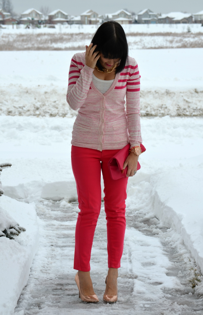 February 2nd, 2014- Pop of Pink