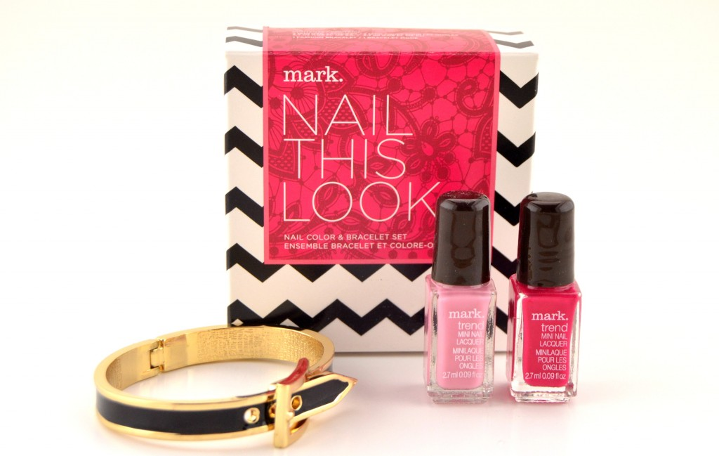 Mark Nail This Look Nail Color and Bracelet Set