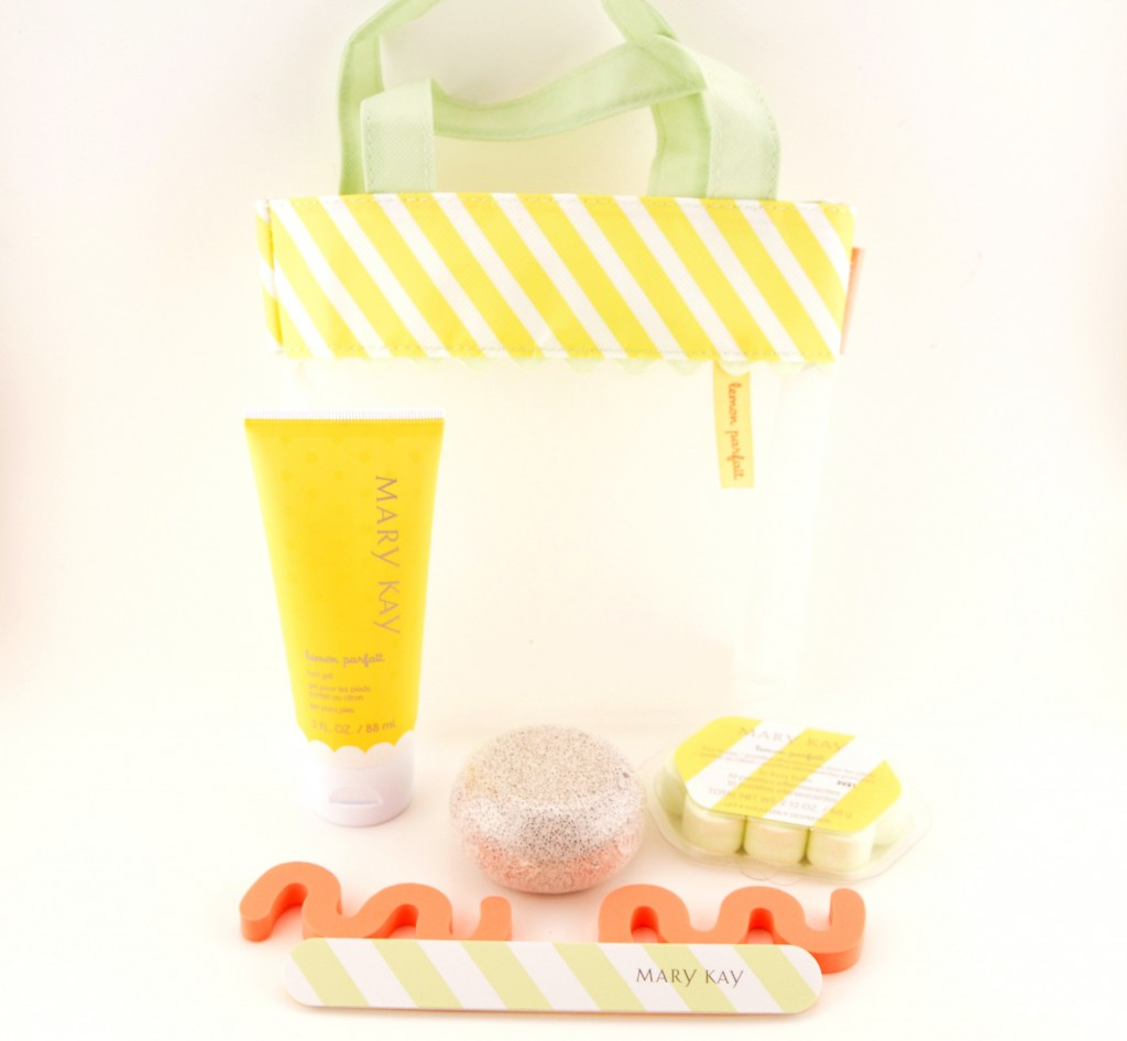 Mary Kay Limited Edition Lemon Parfait Pedicure Collection
