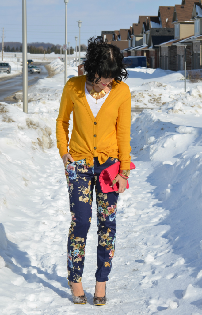 March 6th, 2014- Floral Pants