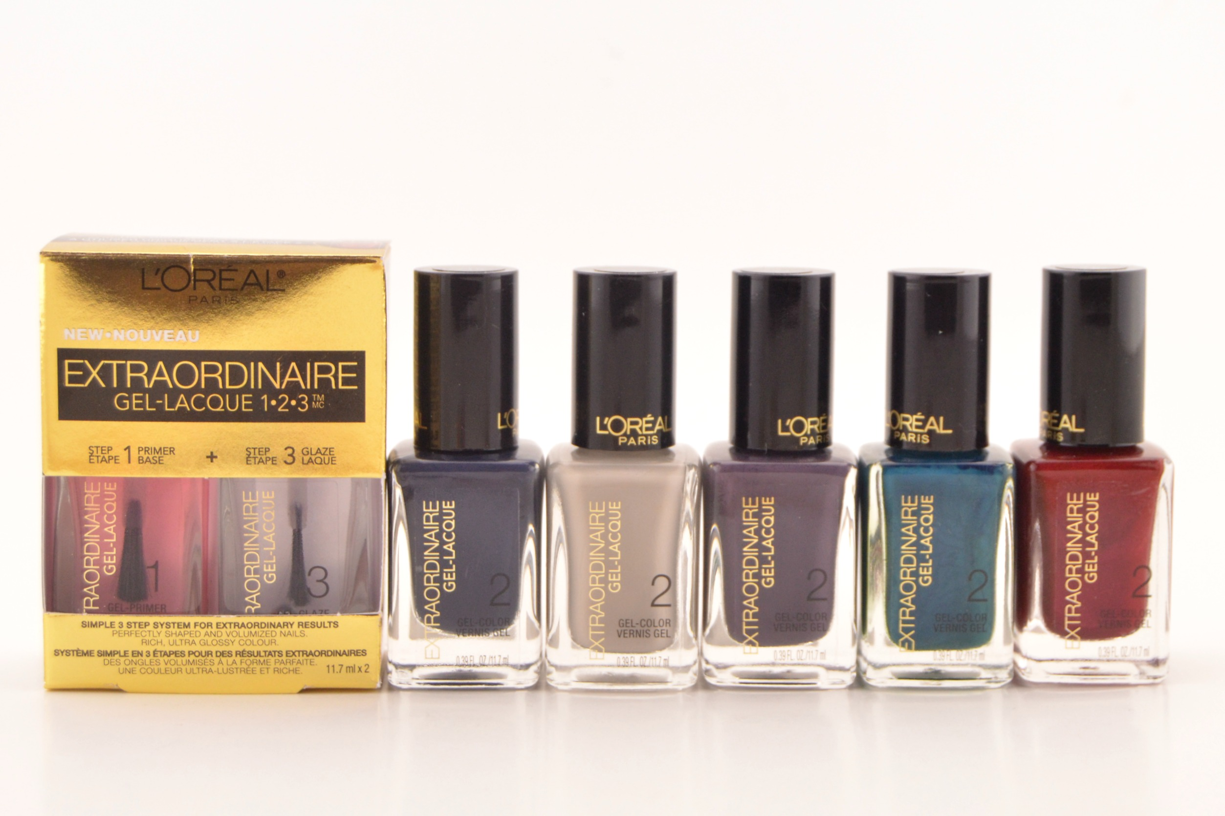 L\'Oreal Extraordinaire Gel Lacque 1-2-3 System