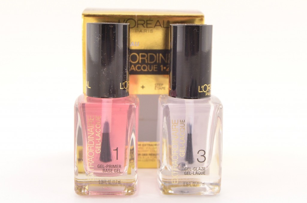 L'Oreal Extraoridinaire Gel Lacque 1-2-3 System (2)