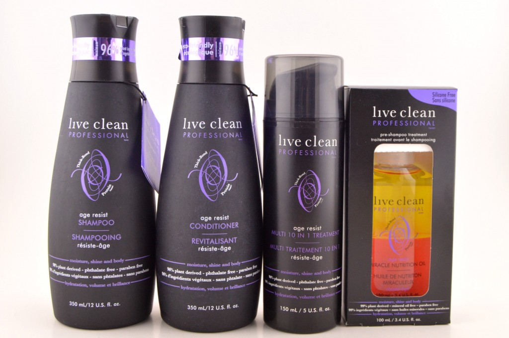 Live Clean Age Resist Collection
